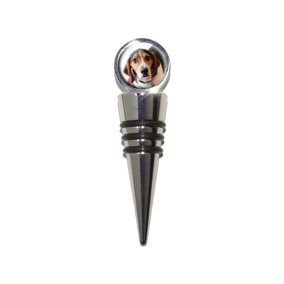 Cute Beagle Wine Bottle Stopper Cork