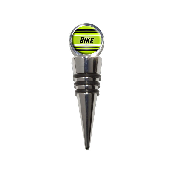 Bike Ride for Your Life Wine Bottle Stopper Cork