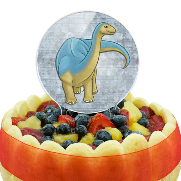 Admirable Apatosaurus Cake Top Topper
