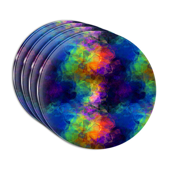 Rainbow Prism Acrylic Coaster Set of 4