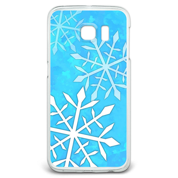 Snowflakes Slim Fit Case Fits Samsung Galaxy S6 Edge