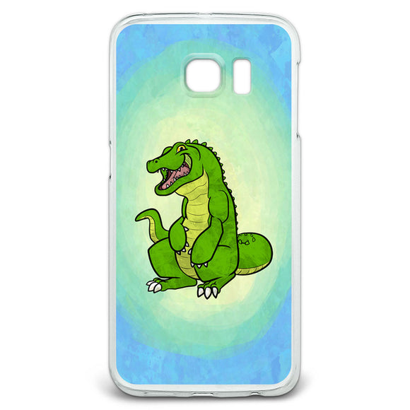 Happy Alligator Slim Fit Case Fits Samsung Galaxy S6 Edge