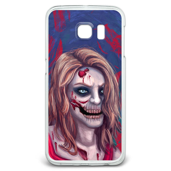 Zombified Girl Slim Fit Case Fits Samsung Galaxy S6 Edge