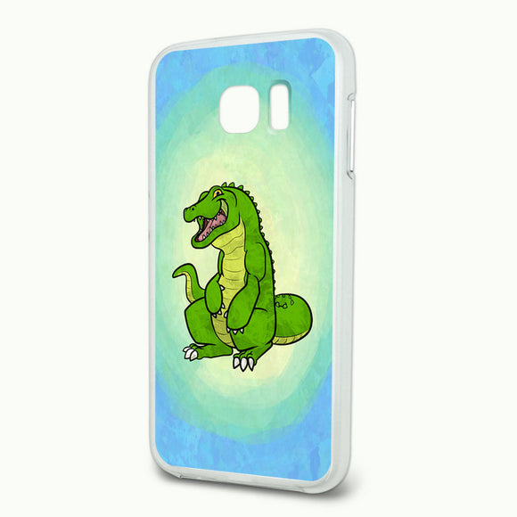 Happy Alligator Slim Fit Hybrid Case Fits Samsung Galaxy S6
