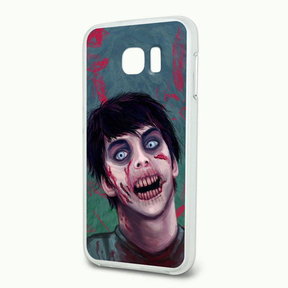Zombified Boy Slim Fit Hybrid Case Fits Samsung Galaxy S6