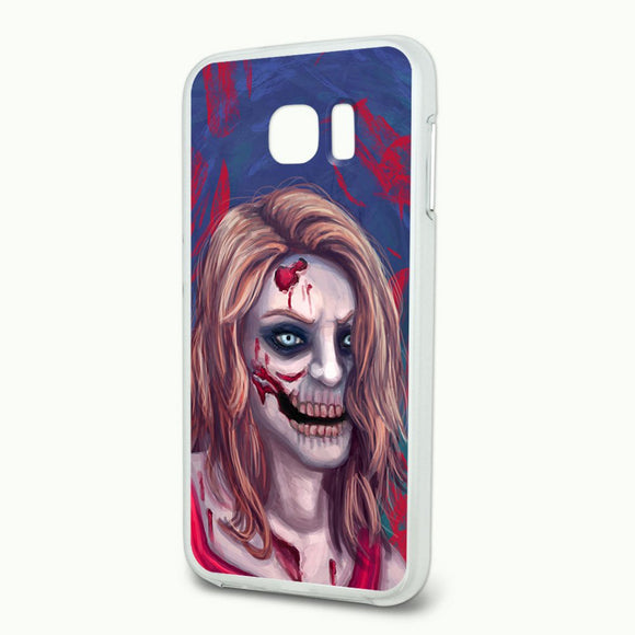 Zombified Girl Slim Fit Hybrid Case Fits Samsung Galaxy S6