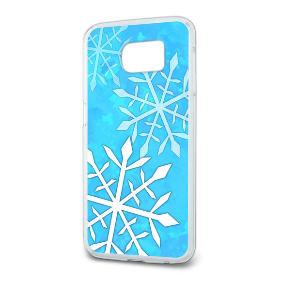 Snowflakes Slim Fit Case Fits Samsung Galaxy S6