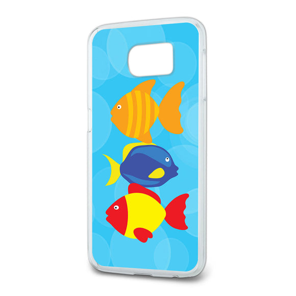 Tropical Fish Slim Fit Case Fits Samsung Galaxy S6