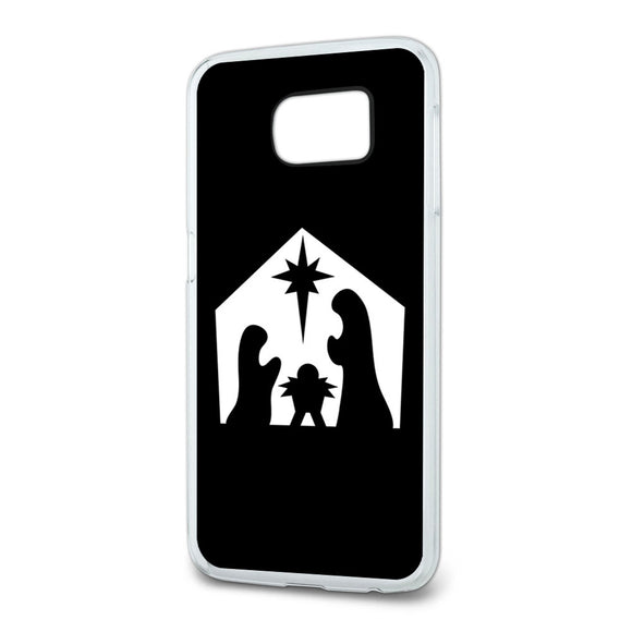 Nativity Scene Christmas Slim Fit Case Fits Samsung Galaxy S6