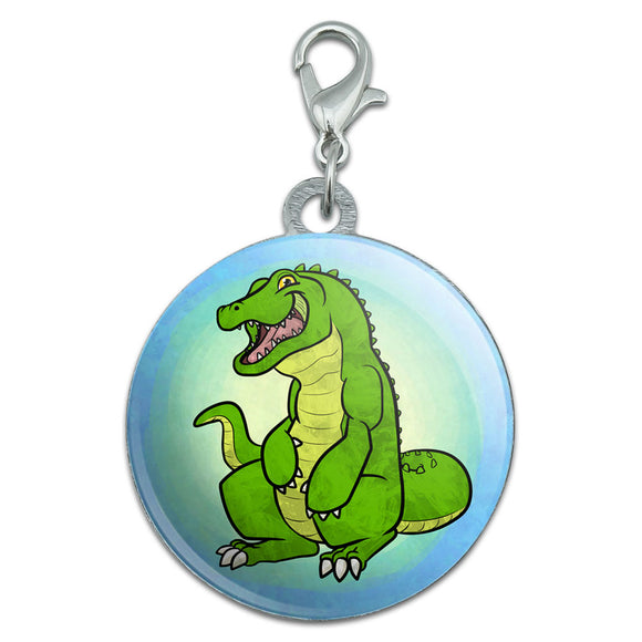 Happy Alligator Stainless Steel Pet Dog ID Tag