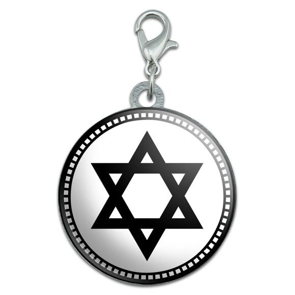 Star of David Stainless Steel Pet Dog ID Tag