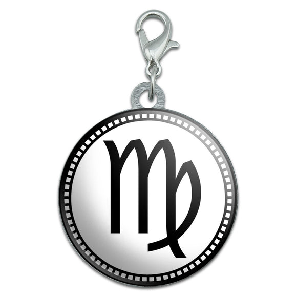 Zodiac Sign Virgo Stainless Steel Pet Dog ID Tag