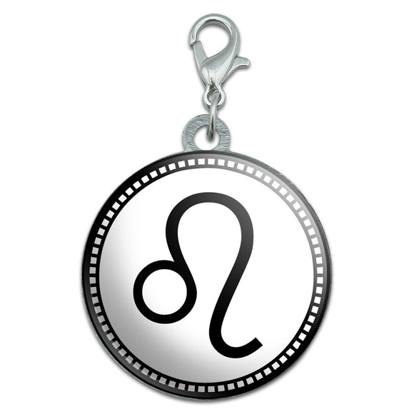 Zodiac Sign Leo Stainless Steel Pet Dog ID Tag