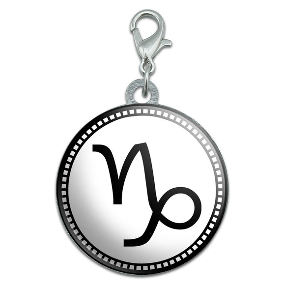 Zodiac Sign Capricorn Stainless Steel Pet Dog ID Tag