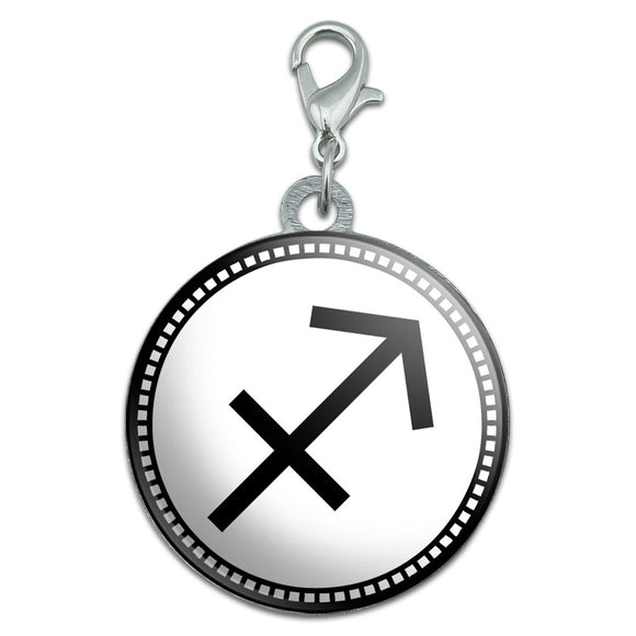 Zodiac Sign Sagittarius Stainless Steel Pet Dog ID Tag