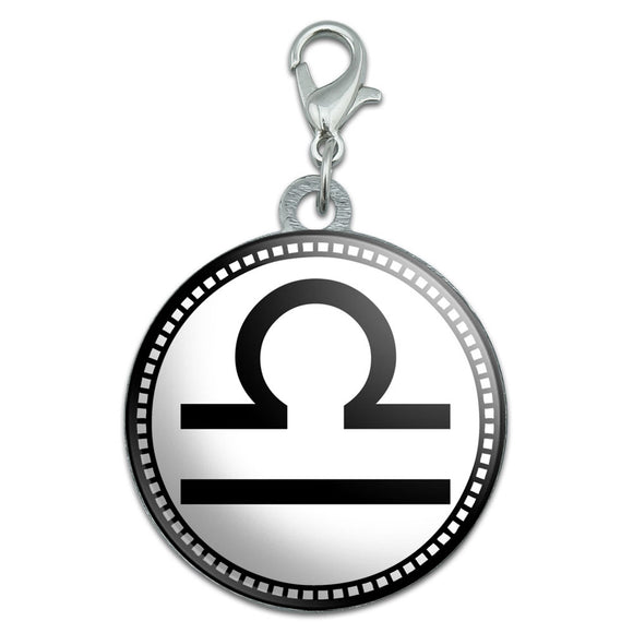 Zodiac Sign Libra Stainless Steel Pet Dog ID Tag