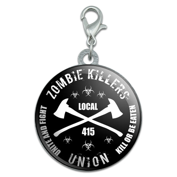 Zombie Killers Union Stainless Steel Pet Dog ID Tag