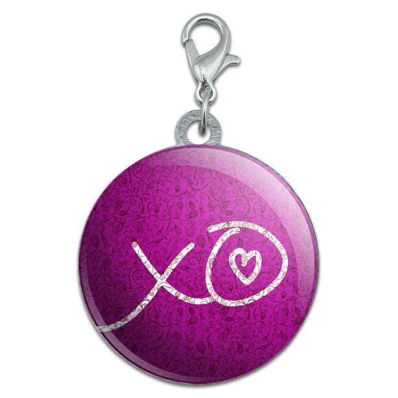 XO Hugs Kisses Love Stainless Steel Pet Dog ID Tag