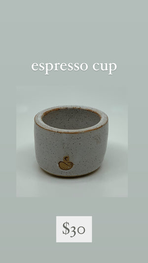 Speckled Buff Espresso Cup