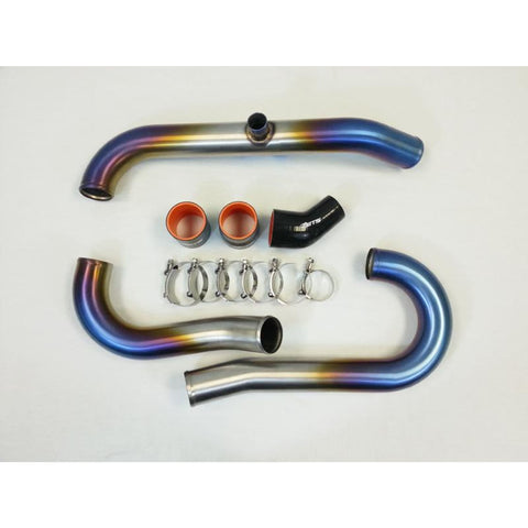 ETS 03-06 Mitsubishi Evo 8/9 2.5 Titanium Short Route Complete Intercooler Piping Kit - Mitsubishi Evolution 8/9