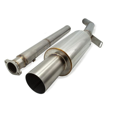 ETS 03-06 Mitsubishi Evo 8/9 Stainless Steel Catback Exhaust System - Mitsubishi Evolution 8/9