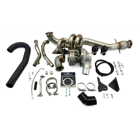 ETS 03-06 Mitsubishi Evo 8/9 Stock Placement Twin Scroll Turbo Kit - Mitsubishi Evolution 8/9