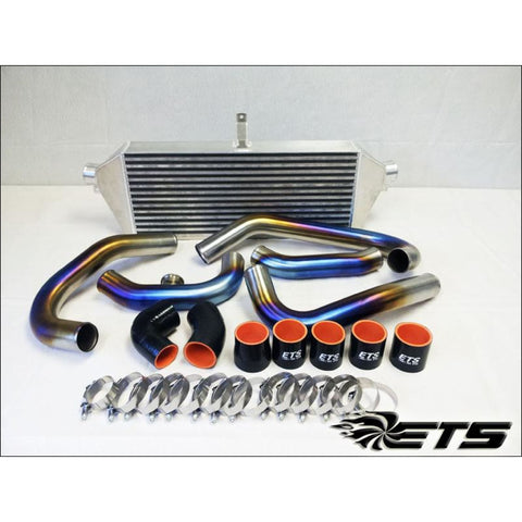 ETS 04-07 Subaru STI Burned Titanium Front Mount Intercooler Piping Kit - Subaru STI 04-07