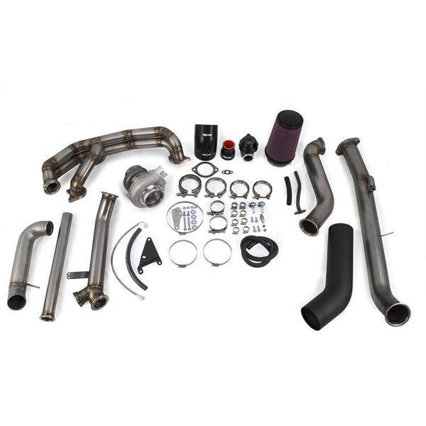 ETS 08-14 Subaru STI Turbo kit (V-Band Up-Pipe Connection) - Subaru STI 08-14
