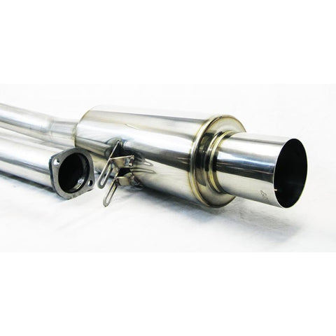 ETS 08-16 Mitsubishi Evo X Stainless Single Exit Exhaust System - Mitsubishi Evolution X