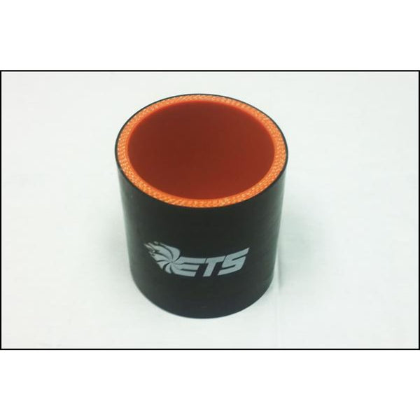 ETS 1.37 Straight Black Silicone Coupler