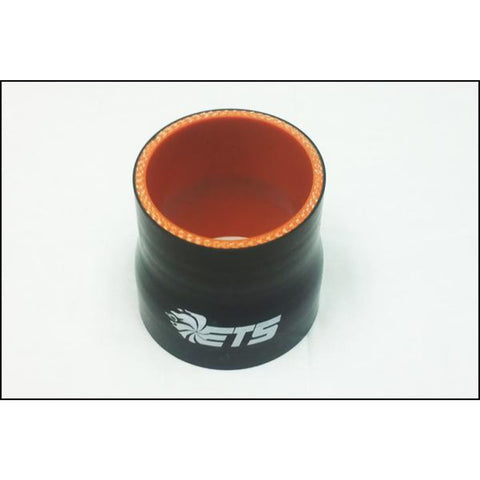ETS 1.75 - 2.5 Straight Reducer Black Silicone Coupler