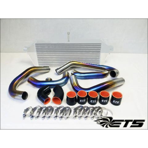 ETS Subaru STI 2015+ Rotated Piping Kit Titanium - Subaru STI 15+