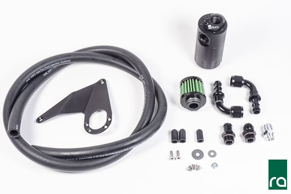 Radium Engineering 08-15 Mitsubishi Evo X Catch Can Kit