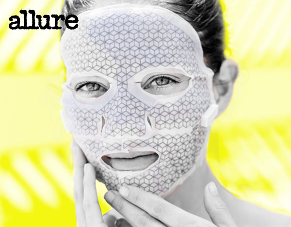 FRANZ Jet 2-Week Microcurrent Facial Dual Mask System featured in Allure