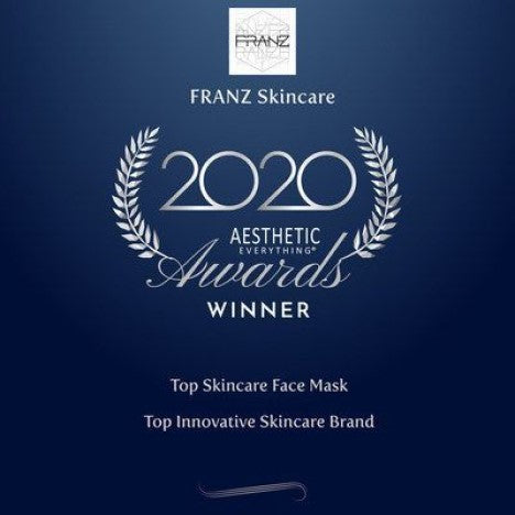 "Yahoo! Franz Skincare USA Announces Second Consecutive Win of ""Top Skincare Face Mask"" in the 2020 Aesthetic Everything® Aesthetic and Cosmetic Medicine Awards"