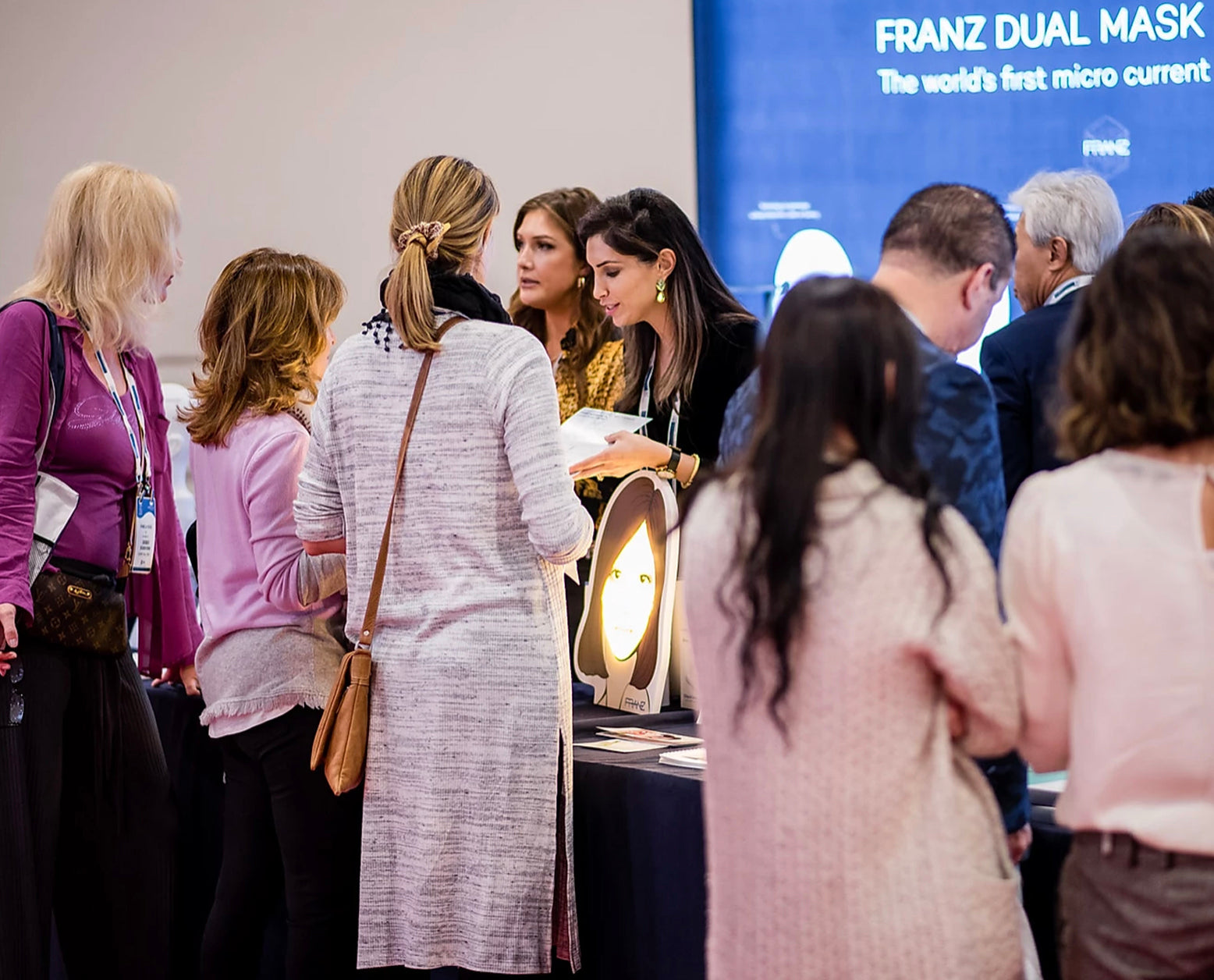 FRANZ Showcases At The Academy For Anti-Aging & Medicine