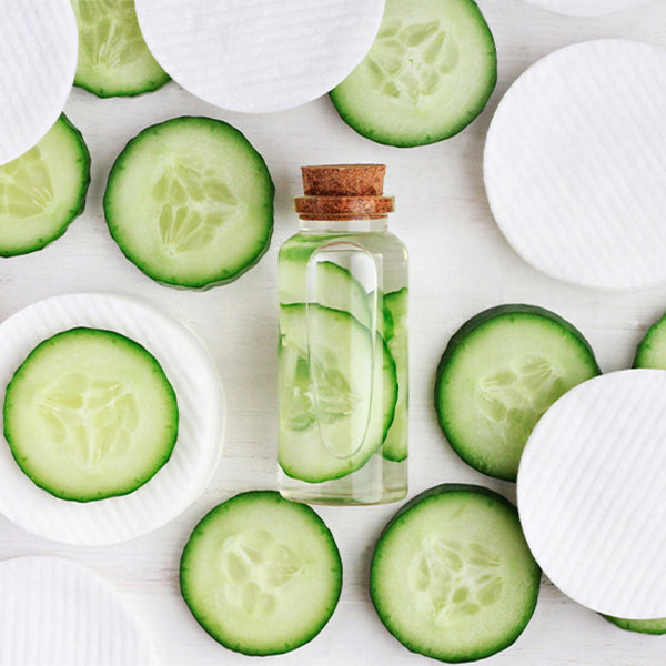 How To Remove Dark Circles Under Eyes Naturally in One Week -Give Cucumber a Shot