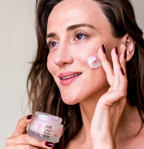 End it all with moisturizing face cream