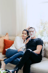 Date Night Couple Facial Masking