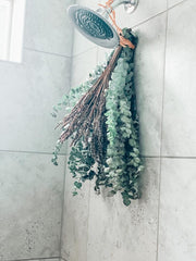 Eucalyptus and Dried Lavender bouquet
