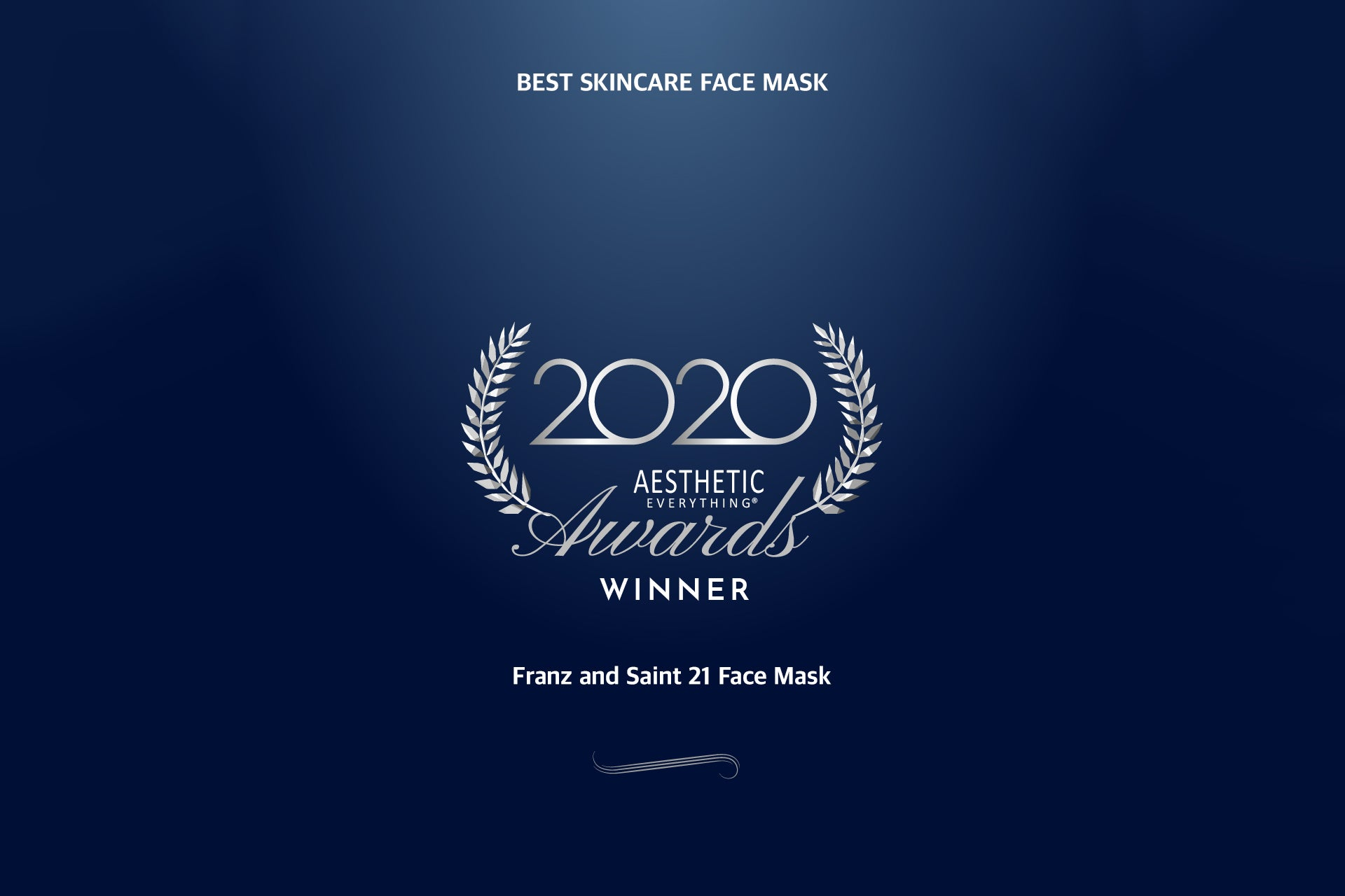 Franz and Saint 21 Face Masks are announced 2020 Aesthetic Everything ® Top Skincare Face Mask