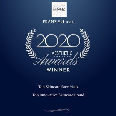 "YAHOO: Second Consecutive Win of ""Top Skincare Face Mask"" in the 2020 Aesthetic Everything® Aesthetic and Cosmetic Medicine Awards"