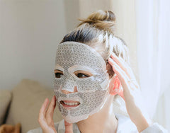 Premium Microcurrent Facial Mask - Weekly Skincare Preventative Aging