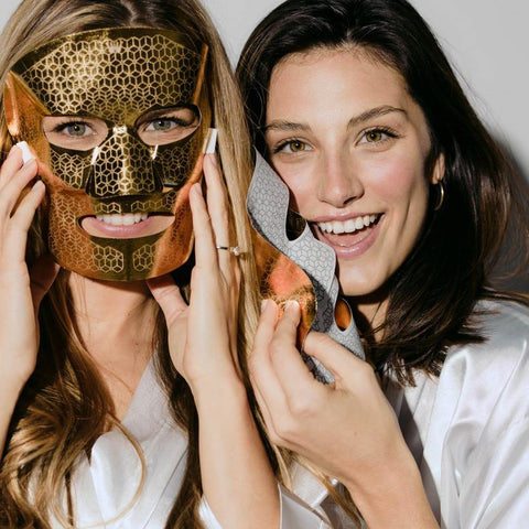 SAINT 21 Gold Microcurrent Facial Dual Mask