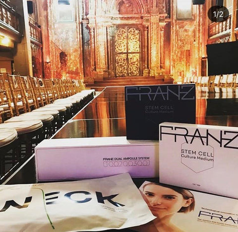 FRANZ Skincare New York Fashion Week 2018
