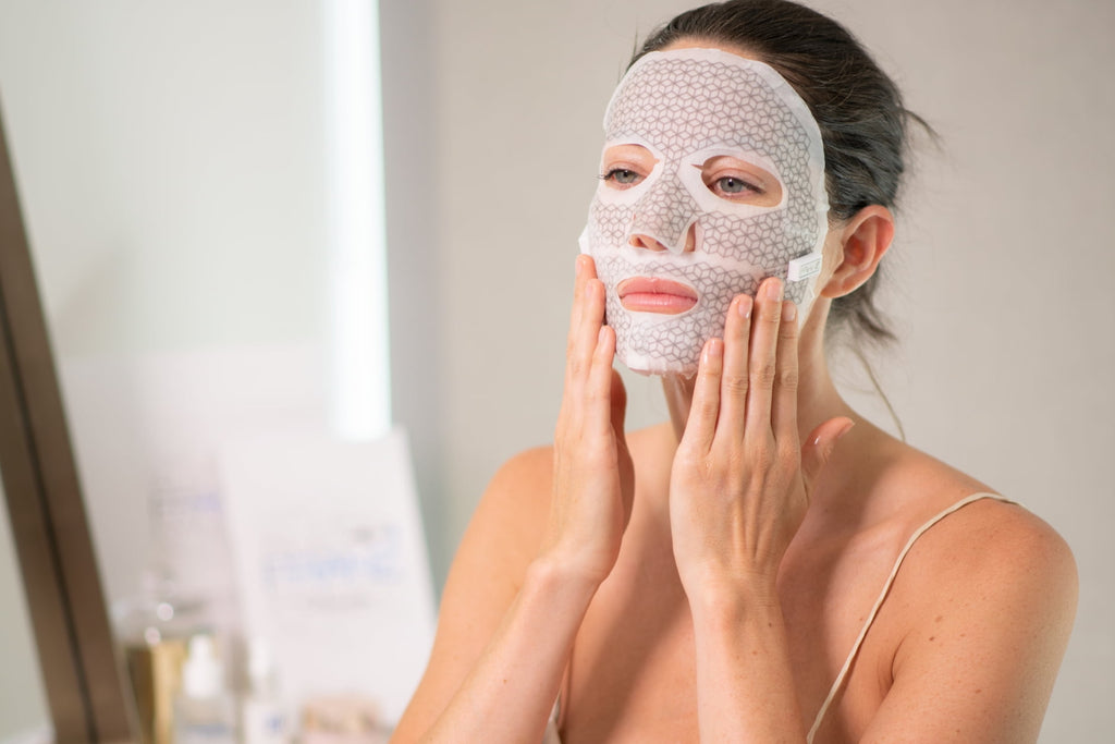 The Best Supplements to Take for  Glowing Skin (Backed by Science) -Microcurrent facial mask
