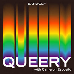 """""""Queery"""" Podcast with Cameron Esposito, cover"""