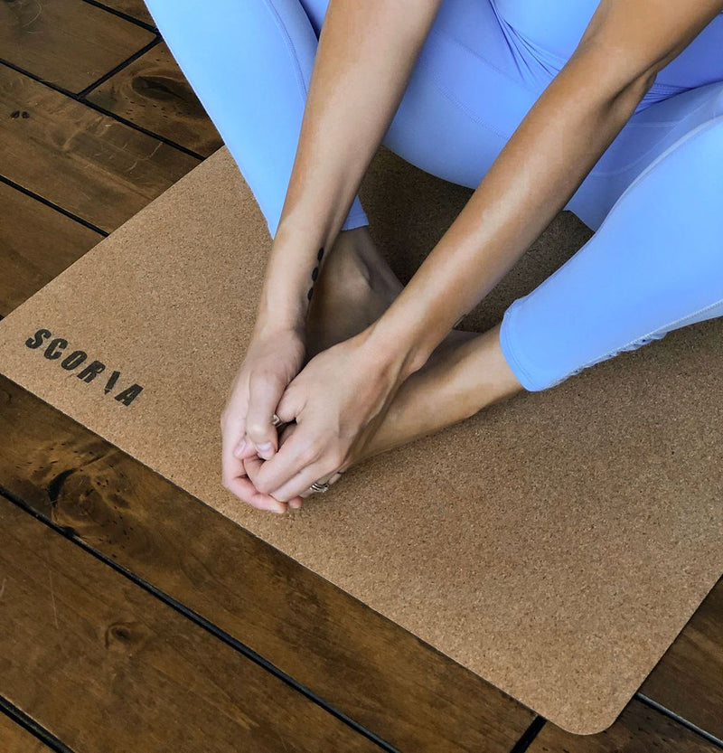 Travel Essential Cork Yoga Mat | 2MM