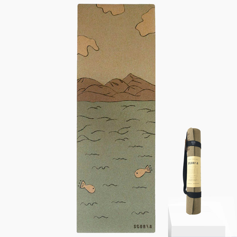 Connection Cork Yoga Mat | 3.5MM