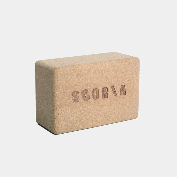 PAIR OF CORK YOGA BRICKS